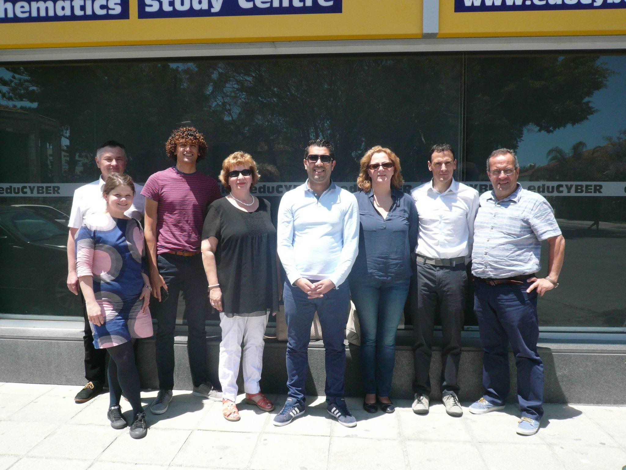 Smart Women project team in Cyprus